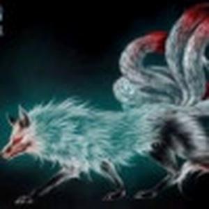 狼月を九面