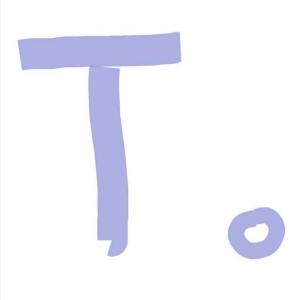 T   。