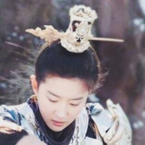 刘亦菲的白纱裙